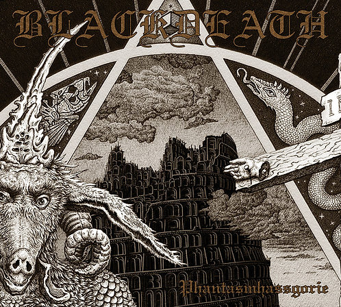 Blackdeath - Phantasmhassgorie DIGI-CD