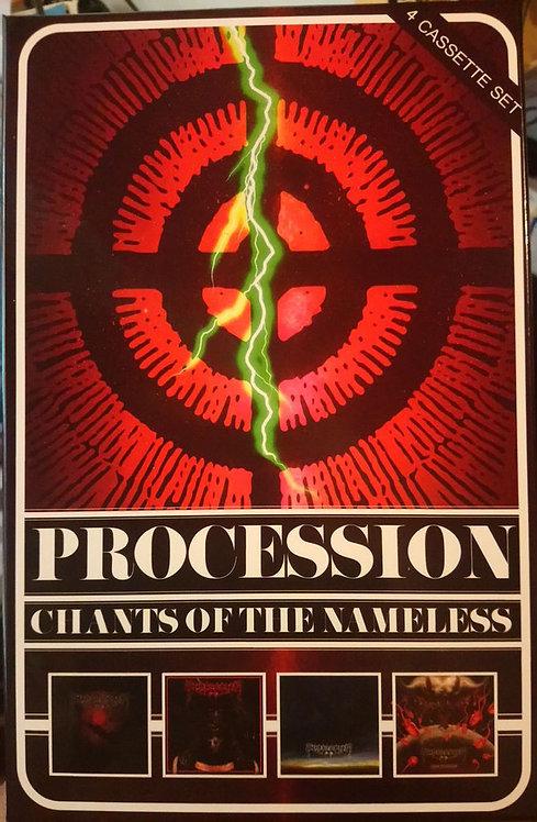 Procession - Chants of the Nameless 4xTAPE BOX