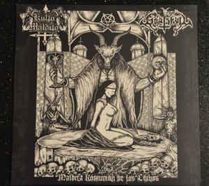 Kulto Maldito / Goat Skull – Maldita Komunión de los Chivos SPLIT LP