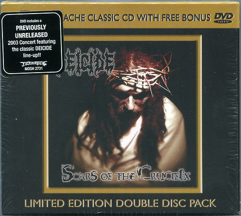 Deicide ‎– Scars Of The Crucifix CD+DVD