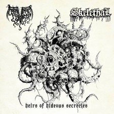 "Cadaveric Fumes / Skelethal - Heirs of Hideous Secrets 7""EP (Black Vinyl)"