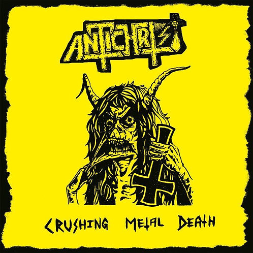 Antichrist - Crushing Metal Death CD