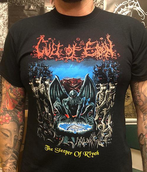 """Cult of Eibon """"The Sleeper of R´Lyeh"""" T-SHIRT"""