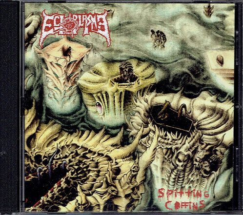 Ectoplasma - Spitting Coffins CD
