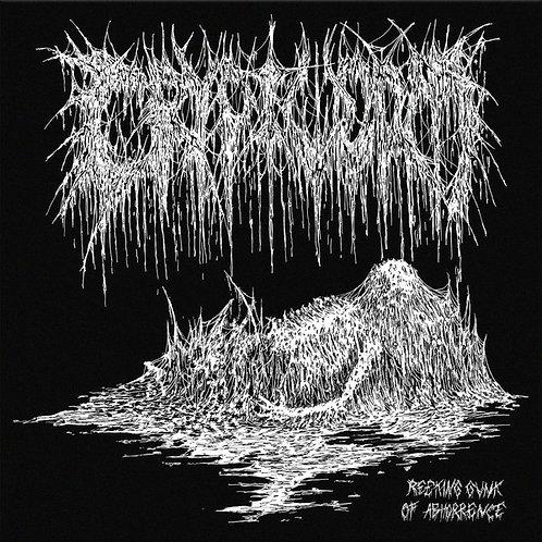 Cryptworm - Reeking Gunk of Abhorrence MLP (Yellow Vinyl)