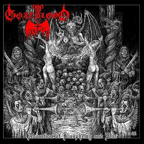 Goatblood – Adoration of Blasphemy and War LP