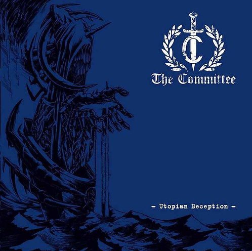 The Committee - Utopian Deception LP (White/Red Splatter Vinyl)