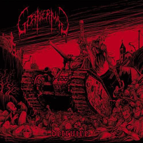 Goatvermin – Détruire LP Red