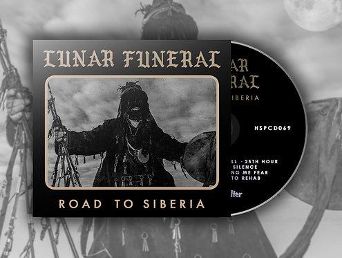 Lunar Funeral - Road to Siberia DIGI-CD