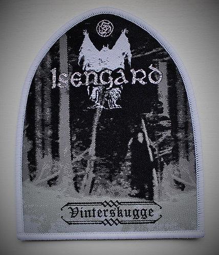 Isengard - Vinterskugge (white border) PATCH