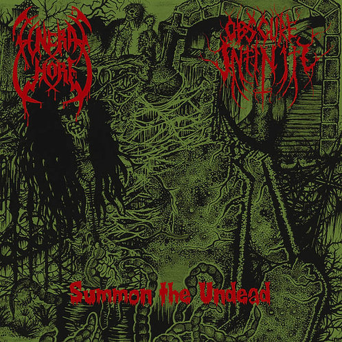 """Funeral Whore / Obscure Infinity – Summon The Dead 7""""EP"""