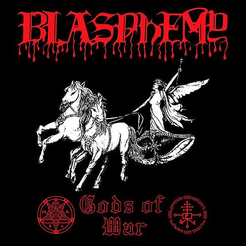 Blasphemy - Gods of War CD