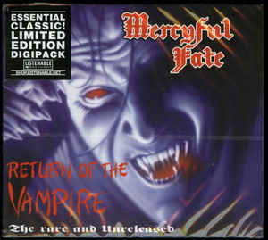 Mercyful Fate - Return of the Vampire DIGI-CD