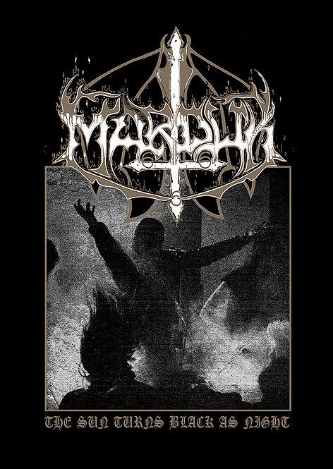 Marduk - The Sun Turns Black as Night Poster