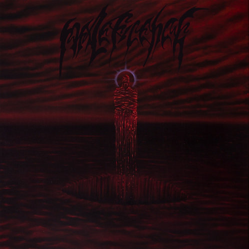 """Maleficence - Realms of Mortification 7""""EP (REd Translucent Vinyl)"""