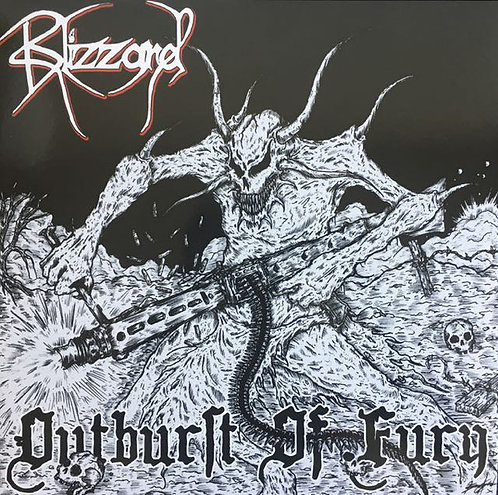 Blizzard ‎– Outburst Of Fury LP