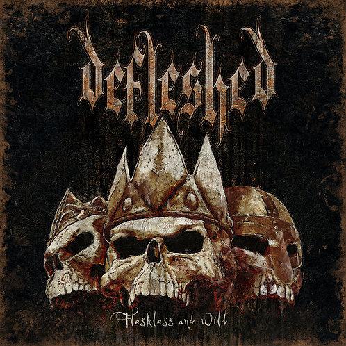 """Defleshed - Fleshless and Wild 7""""EP (Black Vinyl)"""