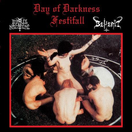 Impaled Nazarene / Beherit - Day of Darkness Festifall DIGI-CD