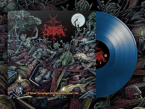 Caedes Cruenta -Of Ritual Necrophagia & Mysterious Ghoul Cults 2xLP (Blue Vinyl)