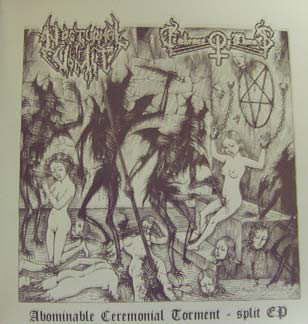 """Nocturnal Vomit / Embrace of Thorns - Abominable Ceremonial Torment 7""""EP"""