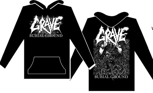 Grave - Burial Ground Size S HOODED SHIRT