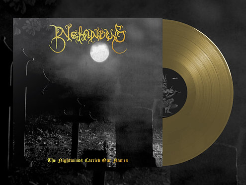 Nefandus - The Nightwinds Carried Our Names LP (Gold Vinyl) (PRE-ORDER)