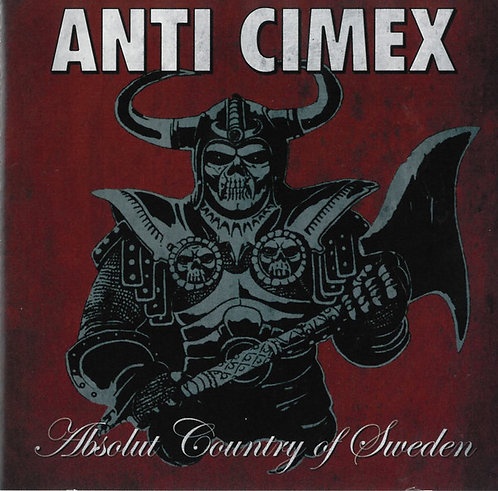 Anti Cimex - Absolute Country of Sweden CD