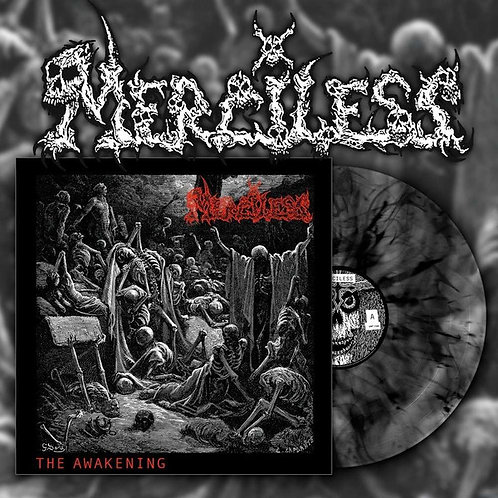 Merciless - The Awakening LP (Black/Marble Vinyl)