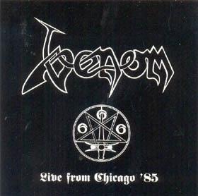 "Venom - Live from Chicago '85 7""EP"