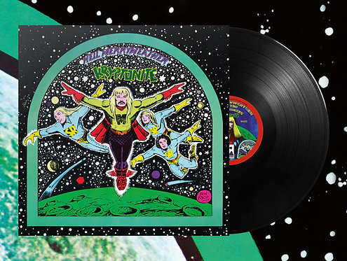 "Neil Merryweather & the Space Rangers - Kryptonite LP + 7""EP (Black Vinyl)"