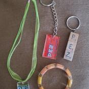 Pez Keychains and Jewelry