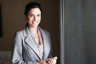 Sonriendo Mujer profesional