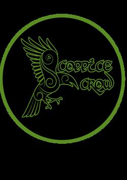 coppice crow logo round