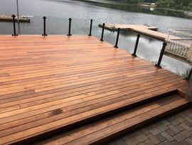 Oregon Lake Deck