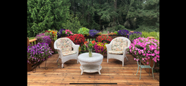 Cedar Deck With Flowers.png