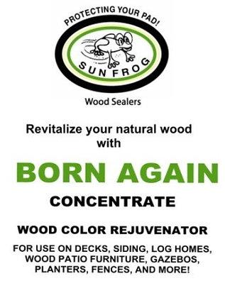 Born Again Wood Color Rejuvenator Concentrate
