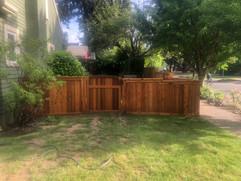 Nice, Custom Cedar Gate