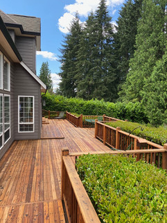 Milwauikie, OR Cedar Deck.