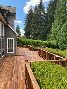 Milwauikie, OR Cedar Deck.