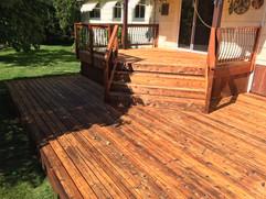 Portland Cedar Deck