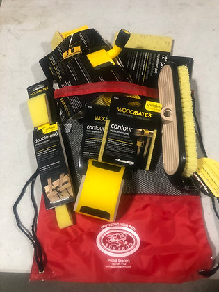 Combined Deck Sealing Tool Kit with Draw String Bag