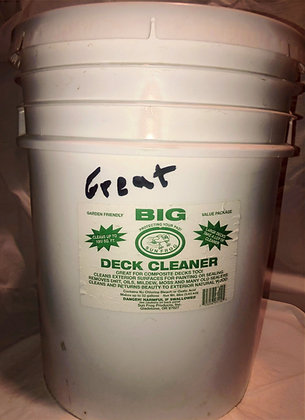 5 Gallon Great Big Deck Cleaner
