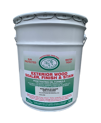 Exterior Wood Sealer 5 Gallon Pail