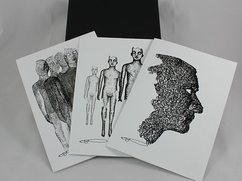 Drawing Demons 2018 Greeting Card Box set