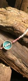 Morganit & rosa Turmalin - Armband