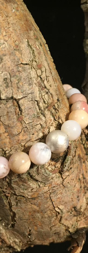 Pink-Opal-Armband