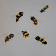 Watercolour Bees