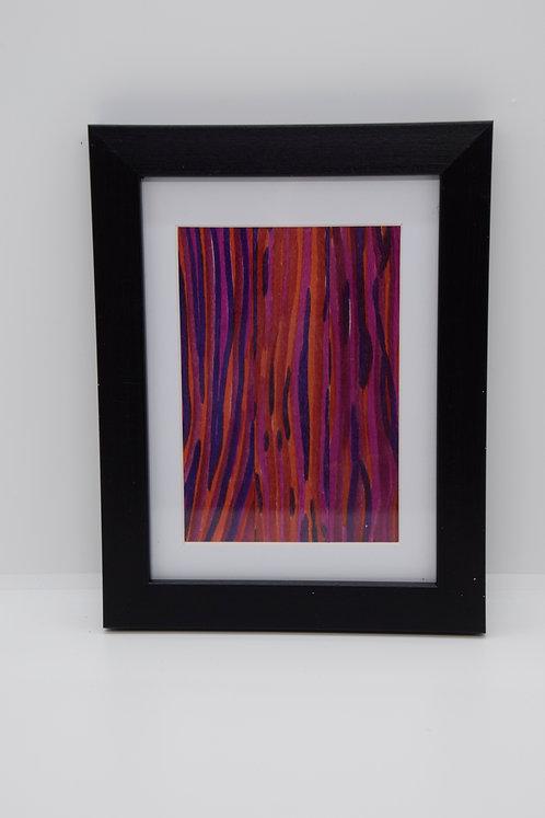 #30 Art Together is Better - Wooden stick framed creation