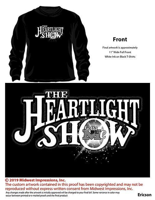 Special Edition Soft Long Sleeve Black GBM Heartlight Show Nov 16 2019 long slee