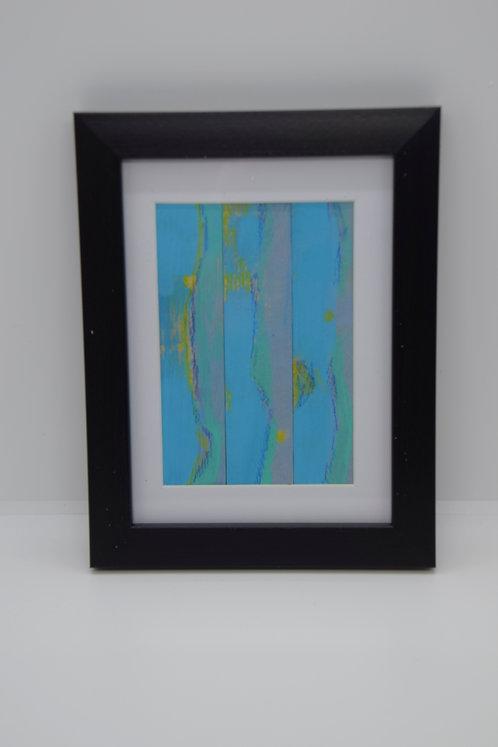 #25 Art Together is Better - Wooden stick framed creation